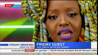 Friday Guest: Muthoni Drummer Queen