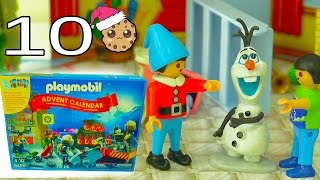 Who Did It?  - Playmobil Holiday Christmas Advent Calendar - Toy Surprise Blind Bags  Day 10