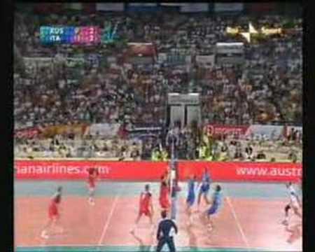immagine di anteprima del video: Come usare il muro avversario (Nazionale Italiana maschile)