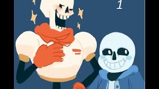 Undertale 1 часть Братья Скелеты