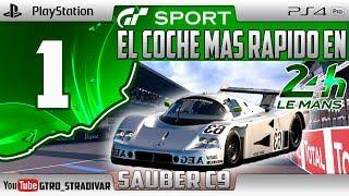GT SPORT - EL COCHE MAS RAPIDO EN LE MANS #1   SAUBER MERCEDES C9   GTro_stradivar