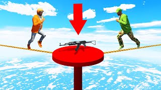 FIRST One To Reach The END WINS! (GTA 5 Funny Moments)