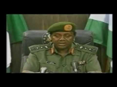 Nigeria Coup Video, Abacha Coup