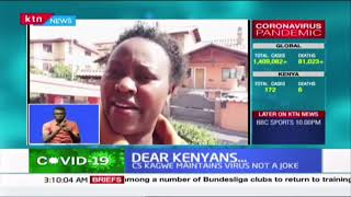 Kenyans living abroad give their experiences of COVID-19