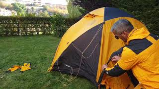VE25 The North Face Tent (Step by step) Part2