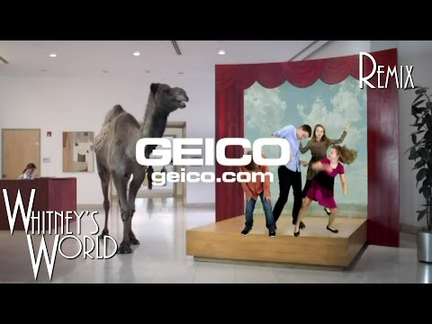 Hump Day Remix | GEICO Camel Guess What Day it is | Whitney