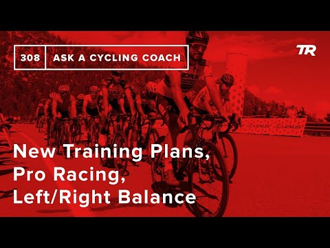 New Training Plans, Pro Racing, Left/Right Balance and More – Ask a Cycling Coach 308