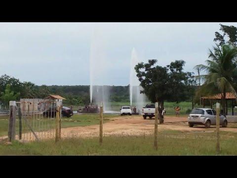 Poço Violeto Alvorada do Gurguéia Piauí