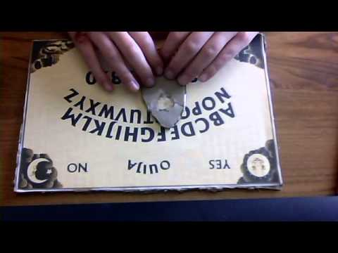 Paranormal Activity Studies/theories - Ouija Board rules and