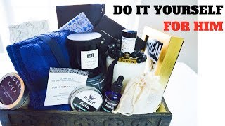 HOW TO WRAP A GIFT FOR MEN | DIY