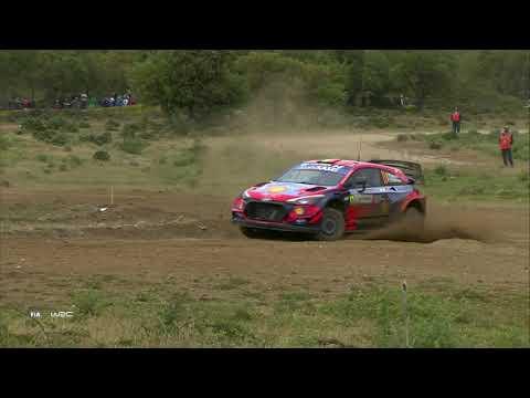 WRC 2021 第5戦ラリー・イタリア 土曜日ハイライト動画1/2