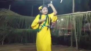 Poe Karen Girl Dancing Tha Jang Song