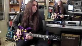 Guitar videos - DANIELE LIVERANI - Regeneration