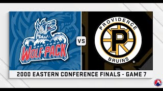 AHL Replay: 2000 Eastern Conference Finals Game 7