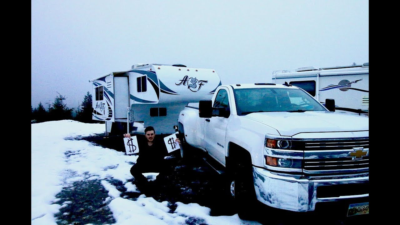 How Much Does It Cost To Live In A Truck Camper!