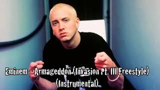 Eminem - Invasion Pt. III (Armageddon Freestyle) (Instrumental) by 2MEY