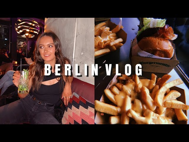 BERLIN VLOG | WHERE TO GO + WHERE TO EAT | ames banks