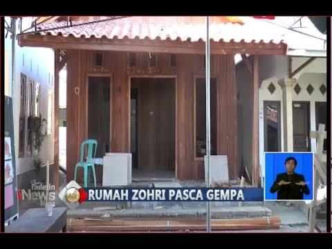 Gempa 7,0 SR Guncang Lombok, Rumah Lalu Muhammad Zohri Tetap Kokoh - BIS 08/08