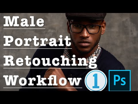 photo retouching tutorial with workflow for male portraits by ghananie photography