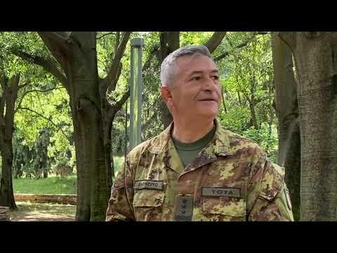 Il generale Tota parla del generale Maurizio Lazzaro de Castiglioni