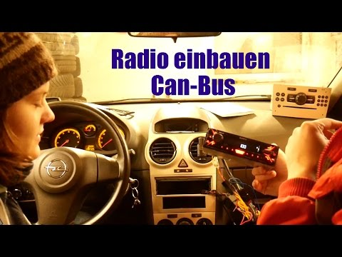 Radio einbauen trotz CAN-bus [Corsa D]