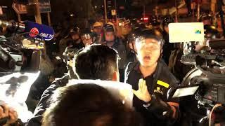 黃大仙防線譚文豪舌戰警員