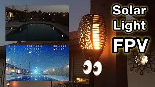???????? Solar Light FPV!!! ???????? Innoo Tech and Tom Care Solar Tiki Torch Light Review