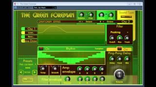 The Green Foreman by Creatorium Genius
