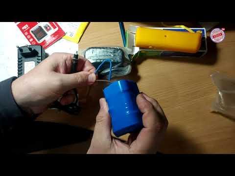 Зарядное устройство для 18650 Стилус Карта micro sd Отпугиватель собак