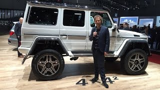 Geneve 2015: Mercedes G500 4x4 & Mercedes-Maybach Pullman - By Autovisie TV