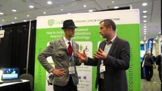 App Resource Connect @ IoT World: Brian Roeten of Copsonic
