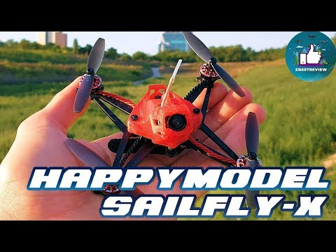 ✔ FPV Квадрокоптер Happymodel Sailfly-X 105mm Crazybee F4 PRO 2-3S Toothpick!