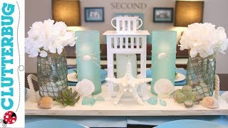 DIY Beach Theme Decor Ideas - Pottery Barn Hack