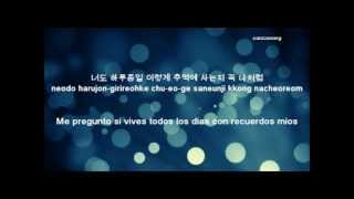2AM~I wonder if you hurt like me |SubEspañol~Hangul~Romanization|