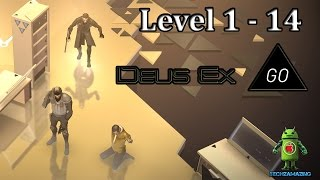 DEUS EX GO LEVEL 1 - LEVEL 14 GOLD Walkthrough