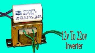 Download Video 12v To 220v Inverter Using Fan capacitor MP3 3GP MP4