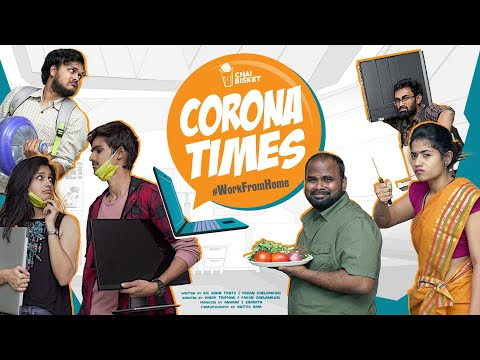 Corona Times Work From Home from chai bisket
