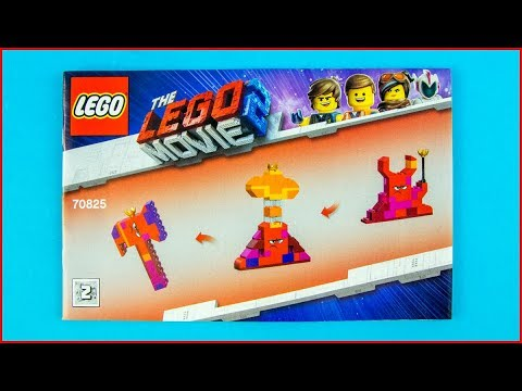 LEGO MOVIE 2 70825 Queen Watevra's Build Whatever Box! B Construction Toy - UNBOXING