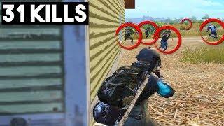 TWO SQUADS PUSHED ME! | 31 KILLS Solo vs Squad | PUBG Mobile