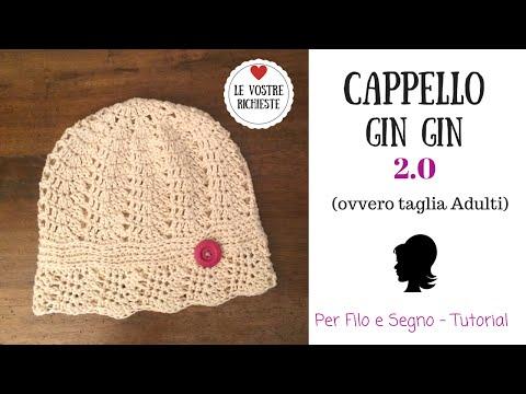 Tutorial - Cappello Gin Gin 2.0 (ovvero taglia per Adulti)