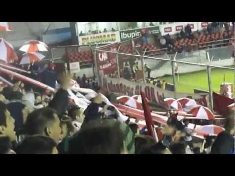 """""""No me digas que sos de racing (SUDAMERICANA2012) // Hinchada de Independiente vs Liverpool"""" Barra: La Barra del Rojo • Club: Independiente"""