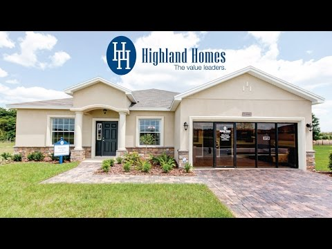 Shenandoah II home plan by Highland Homes - Florida New Homes for Sale