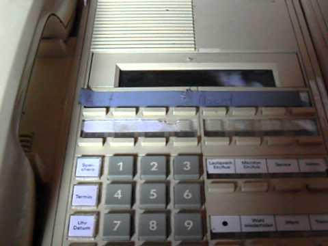 alte siemens telefonanlage mit systemtelefon analog