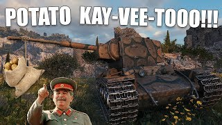 WoT || POTATO KAY-VEE-TOOO!!! || The STRONKEST Tonk In The Game
