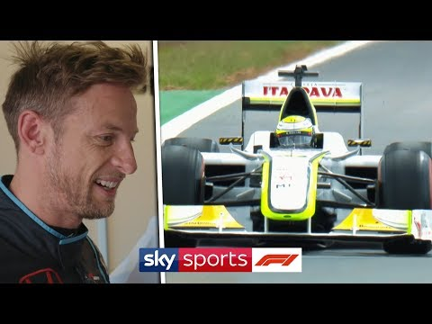 Image: WATCH: Jenson Button drives 2009 Championship Winning Brawn BGP001 at Silverstone