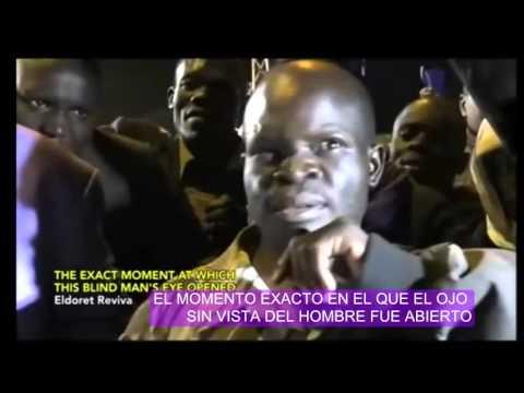 INCREIBLE SANIDAD DE UN CIEGO Y PARALITICO!!!! - Eldoret Kenia. Profeta Dr. David Owuor