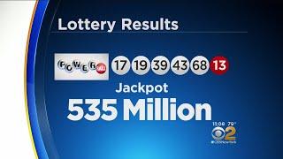 Winning Numbers In $535M Powerball