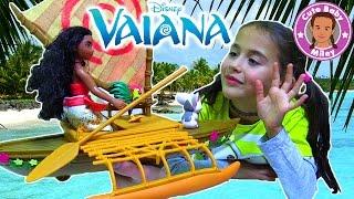 DISNEY VAIANA Sternlichter Boot Spielset Hasbro - WIR TESTEN | CuteBabyMiley