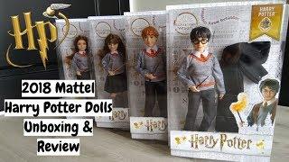 NEW 2018 Mattel Harry Potter Dolls - Unboxing & Review | Bratzpowergirl