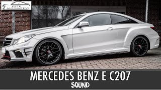 MERCEDES BENZ E KLASSE COUPE SOUND MODUL & BODYKIT | Active Sound - Sound Booster - Cete Automotive